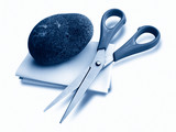 rock paper scissor poster