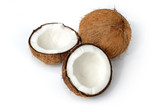 coconut still-life isolated poster