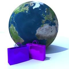 shop baggy blue earth