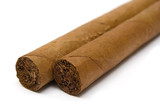 two cigars (close view)