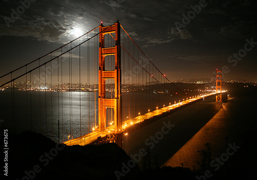 Foto op Aluminium San Francisco golden gate