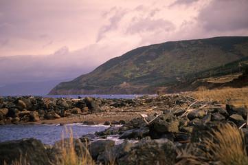 cape breton highlands sunset