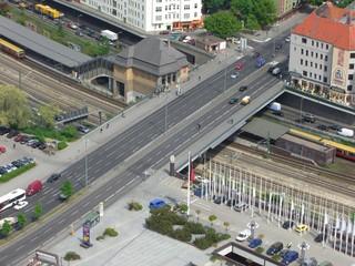 bhf messegelände nord mit kantstraße