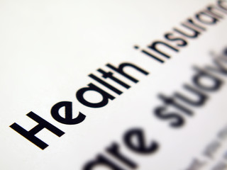 health insurance text