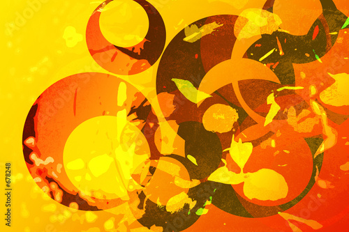 oriental abstract background