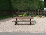 quiet bench poster