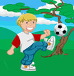 roleta: playing football (or soccer !)