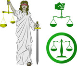 symbols of justice poster
