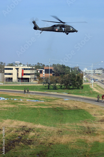 rescue helicopter takeoff