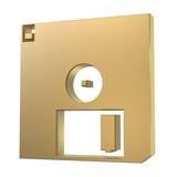 floppy disk poster
