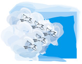 bird migration poster