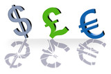 currency symbols poster