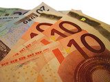 euro bank notes poster