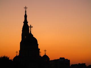 cathedral in kharkov, ukraine