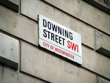 downing street sign poster