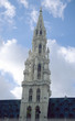 brussels town hall tower