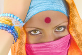 indian woman poster