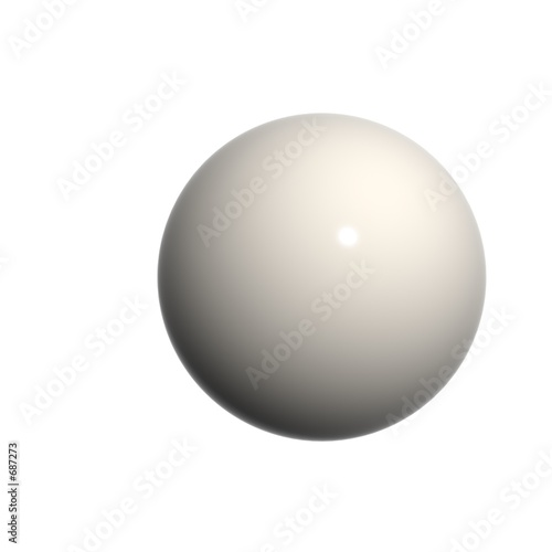 3d business looking sphere