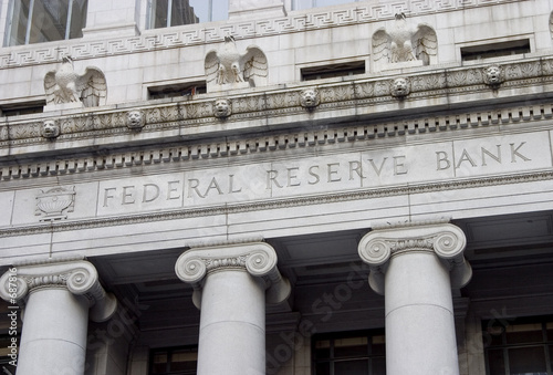 canvas print picture federal reserve facade 1