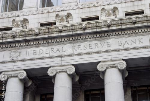 Leinwandbild Motiv federal reserve facade 1