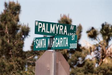 streetsign: santa margarita street