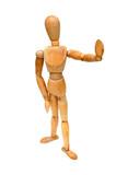 figurine - stop poster