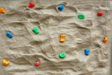 rock climbing wall poster
