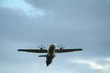 plane at take-off poster
