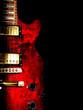 roleta: red guitar