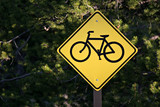 bicycle path only poster