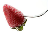 strawberry and a fork poster