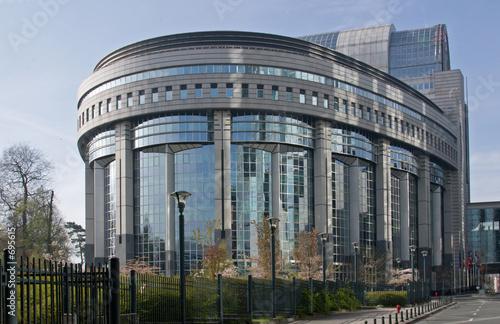 Leinwanddruck Bild europäisches parlament