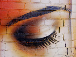l'oeil du mur