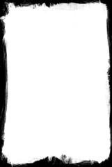 ink brushed frame