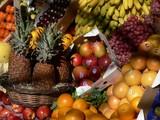 full of fresh fruit poster