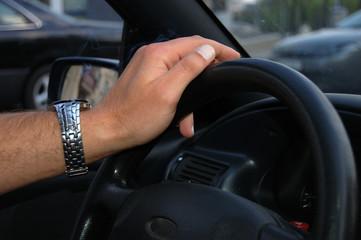 drivers hand