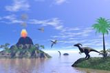 dinosaur world poster