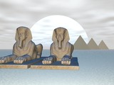 sphinx pair poster