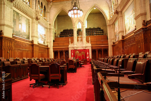canadian parliament senate chamber