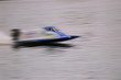 running f-1 speedboat