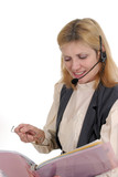 customer service operator 7105 poster