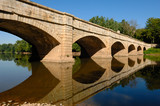 close view of the monocacy aqueduct