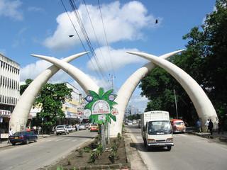 zentrum von mombasa (kenia)