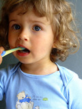brushing teeth poster