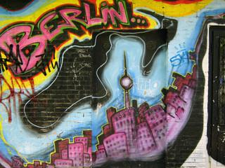 graffiti stadt berlin