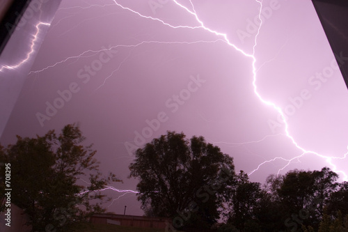 back door lightning