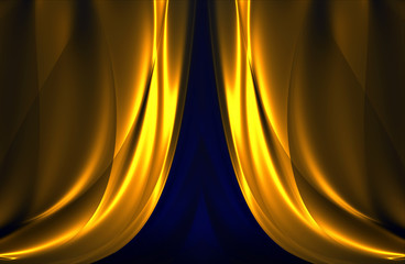 curtain pattern