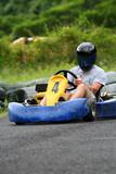 go kart number four poster