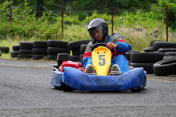 karting number five