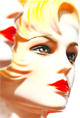 close-up woman